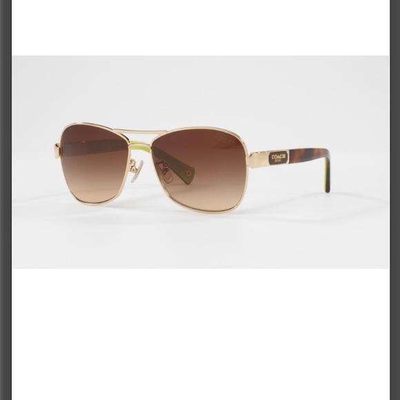 578acea9f703 Coach Accessories | Caroline Sunglasses Goldtortoise Hc7012 | Poshmark